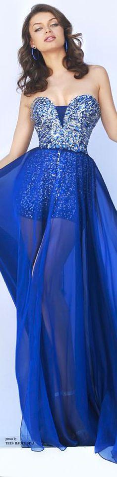 Sherri Hill Fall 2014 ♔ Tres Haute Diva