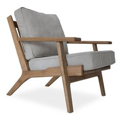 Shop Beckett Mid-Century Modern Beige Linen Club Chairs for sale. With its comfortably reclined position, Adirondack inspiration , generous armrests and plush down cushions, it is sure to make a cozy addition to any space in your home. Ottoman Furniture, Chair And Ottoman, Arm Chairs, Lounge Chairs, Living Room Grey, Living Room Decor, Modern Room, Mid-century Modern, Mid Century Armchair
