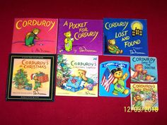 Corduroy Bear 8 Picture Books Christmas Preschool Lost & Found Pocket Ages 3-8