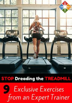 Need a change of pace from running in place? Try these 9 treadmill exercise ideas - each routine is designed exclusively for SparkPeople by expert fitness trainer Billy Polson.