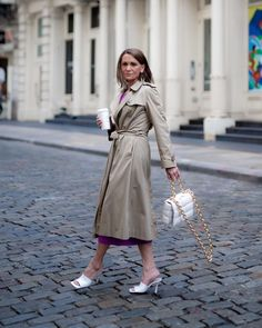 Wrap coat, dress and heels | Photo by SYLVIA (@simplysylviadc) | For more style inspiration visit 40plusstyle.com