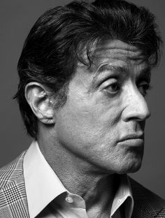 "Sylvester ""Sly"" Stallone (1946) - American actor, screenwriter, film director. Photo by Peter Hapak"