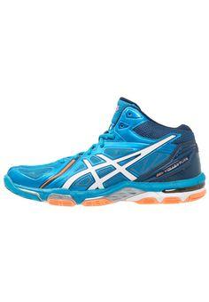 Haz clic para ver los detalles. Envíos gratis a toda España. ASICS  GELVOLLEY ELITE 3 MT Zapatillas de voleibol blue jewel/white/hot orange:  ASICS GELVOLLEY ...