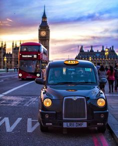 London Calling with three of its icons. Big Ben, a red double decker bus and a black taxi London Calling, London Photography, City Photography, Stunning Photography, London City, London Bus, London Icons, Big Ben, Beautiful London