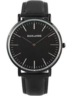 Alienwork Classic St.Mawes Quarzuhr Armbanduhr elegant Uhr modisch Zeitloses Design klassisch Leder schwarz schwarz U04816G-01 - http://uhr.haus/alienwork/alienwork-classic-st-mawes-quarzuhr-armbanduhr-19