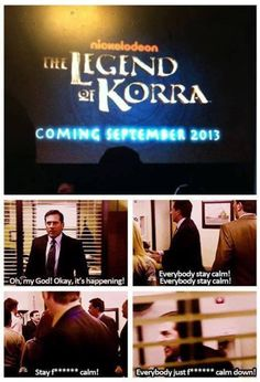 The Legend of Korra: EVERYONE STAY CALM!!