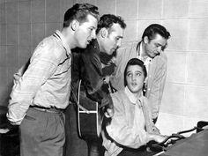 Jerry Lee Lewis, Carl Perkins, Elvis & Johnny Cash