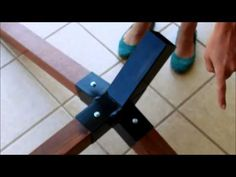DIY hammock stand - YouTube