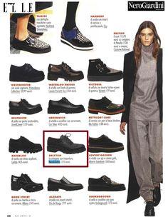 Very Elle Shopping - settembre 2014 #nerogiardini #shoes