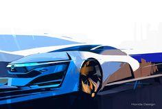ホンダが2015年に発売予定の燃料電池コンセプトを初公開【ロスアンゼルスオートショー2013】