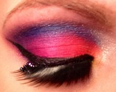 Using my Urban decay electric palette