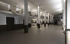 Die 'Alte Spreegalerie' beim Alexanderplatz in Berlin ist eine hippe Off-Location im schicken Industrie-Design.