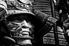 face of a samurai by Adithya Anand, via 500px