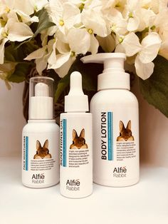 Alfie Rabbit is a beautiful Australian probiotic & prebiotic baby care brand. Products include Face Moisturiser, Soothing Oil and Body Lotion. Best Probiotic, Probiotic Foods, Moisturiser, Baby Care, Body Lotion, Natural Skin Care, Baby Toys, Rabbit, Bottle
