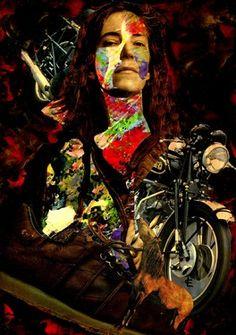 """Saatchi Online Artist CARMEN LUNA; Assemblage / Collage, """"14-Collagemania Carmen Luna.Patti Smith."""" #art http://www.saatchionline.com/art-collection/Assemblage-Collage/Collagemania-CARMEN-LUNA/71968/46137/view"""