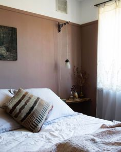 sfgirlbybay / bohemian modern style from a san francisco girl Home Decor Inspiration, Sfgirlbybay, Happy New Home, Handmade Furniture, Bohemian Modern Style, Contemporary Furniture, Bedroom Decor, Pink Walls, Pink Painted Walls