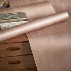 Parchment Burnished Copper Wallpaper | Designers Guild