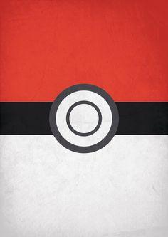 Pokemon minimalistic/retro by xFaena on DeviantArt