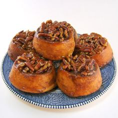One Perfect Bite: Wicked Good Pecan Rolls Sweets For Diabetics, Diabetic Desserts, Diabetic Recipes, Low Carb Recipes, Delicious Desserts, Cooking Recipes, Yummy Food, Diabetic Foods, Cooking Hacks