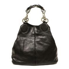 42ffc4e9345 Gucci Icon Leather Hobo Bag. Hobo bags are hot this season! The Gucci Icon