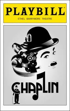 Chaplin Playbill - Opening Night