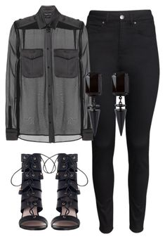 """Sem título #5816"" by ana-sheeran-styles ❤ liked on Polyvore featuring H&M, Tom Ford and Zimmermann"