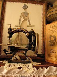 Sewing Machine-- This is so beautiful!