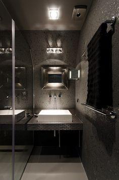 ♂ Modern interior design bathroom Little Loft by Oooox