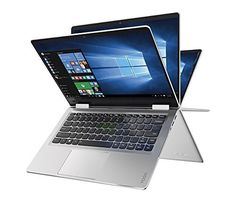 Lenovo Yoga convertible (multipurpose) laptop is known for its strong build and stylish looks.