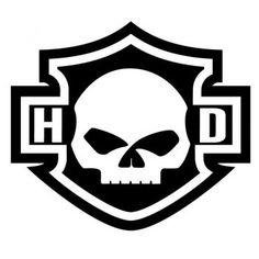 Harley Davidson Logo Silhouette Skull Sticker HD - Harley Davidson logo silhouette skull decal La mejor imagen sobre healthy breakfast para tu gusto E - Harley Davidson Dyna, Harley Davidson Kunst, Harley Davidson Stickers, Harley Davidson Wallpaper, Harley Davidson Motorcycles, Triumph Motorcycles, Custom Motorcycles, Harley Tattoos, Harley Davidson Tattoos