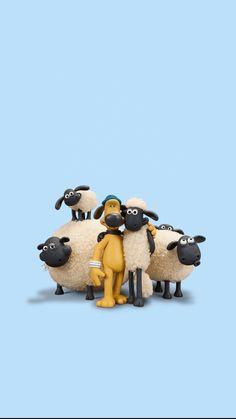 Cartoon Wallpaper Iphone, Cute Cartoon Wallpapers, Cartoon Movies, Cartoon Characters, Estilo Coco Chanel, Sheep Drawing, Sheep Cartoon, Timmy Time, Shaun The Sheep