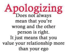 Take personal responsibility for your wrong doings. If you know, for instance, that your actions or words have hurt someone, you need to admit your faults and face the reality of your actions. An apology is the super glue of lasting relationships. It can repair just about anything. Never ruin a relationship with an excuse or denial instead of simply apologizing.