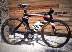 Frederik Van Lierde's P5 before heading off to a windtunnel. Photo by Jay Prashun of LAVA Magazine