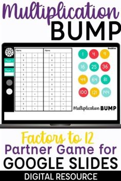 Multiplication Dice Games, Multiplication And Division Practice, Fluency Games, Math Fact Fluency, Math Fractions, Math Journals, Math Facts, Humor, School Resources