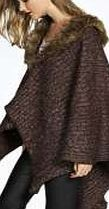 boohoo Knitted Faux Fur Trim Cape Wrap - brown azz19026 Whether youre fighting the freeze in a faux fur stole, or curbing the cold in a quirky fedora hat, scarves and hats are the outfit-perfecting accessories we all need. Stripe trim scarves and beanies b http://www.comparestoreprices.co.uk/womens-accessories/boohoo-knitted-faux-fur-trim-cape-wrap--brown-azz19026.asp