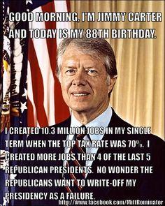 Jimmy Carter was not a failure.