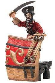 WDCC Disney Classics_Pirates Of The Caribbean Captain Of The Wicked Wench Fire At Will