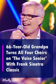 """Ordinary"" Grandpa Turns All 4 Chairs on 'The Voice Senior' With Frank Sinatra Classic Live Music, Good Music, Amazing Music, Music Songs, Music Videos, Frank Sinatra Songs, Americans Got Talent, The Voice Of Holland, Old Grandpa"
