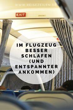Meine Tipps, um (halbwegs gut) im Flugzeug zu schlafen.