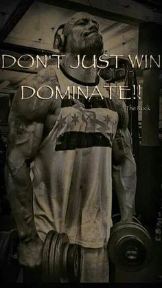 Dominate!  http://GetRippedandRichNow.com  Ready to get in the best shape of your life? Join me!