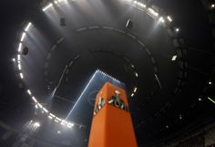 Photographs From The Power Outage At The Superdome