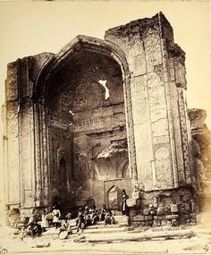 Rare Vintage Photographs of Tehran, Iran from 1848 to 1864