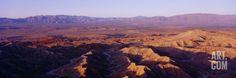 Font's Point, Anza Borrego Desert State Park, Sunrise, California Photographic Print at Art.com