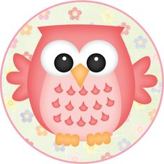 MAKE YOUR OWN CUTE DECORATION - Flower Owls #3
