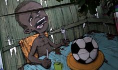 Let them eat football: Rio de Janeiro's anti-World Cup street art