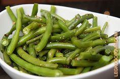Фото рецепта: Зеленая фасоль с горчицей