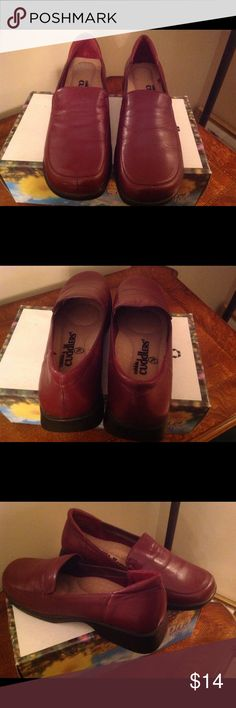BROWN LOAFERS BROWN  LOAFERS, Size 7 W, NWOT cobbie cuddlers Shoes Flats & Loafers