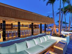 OMG that bar!!!  1 Hotel South Beach Opens In Miami