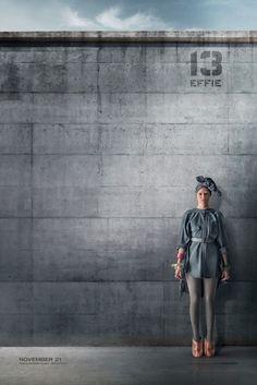 District 13 citizen poster of Effie in Mockingjay Part 1