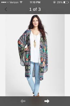 smart cool kimono | stylinterest | Pinterest | Kimonos, Boho and ...